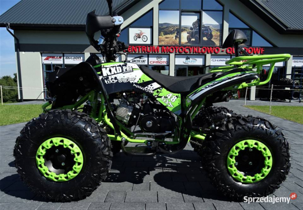 ATV WARRIOR GREEN-LEMON 125CC #ROTI 8 INCH / SEMI-AUTOMAT 3