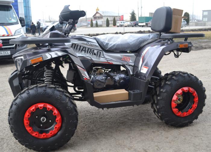ATV QUABLOR PRO 200CC #ROTI 10 INCH / AUTOMAT 3