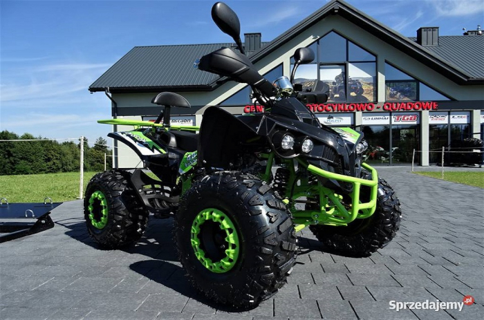 ATV WARRIOR GREEN-LEMON 125CC #ROTI 8 INCH / SEMI-AUTOMAT 0