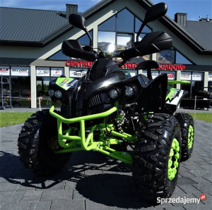 ATV WARRIOR GREEN-LEMON 125CC #ROTI 8 INCH / SEMI-AUTOMAT2