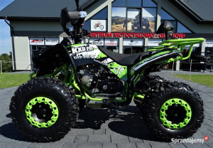 ATV WARRIOR GREEN-LEMON 125CC #ROTI 8 INCH / SEMI-AUTOMAT3