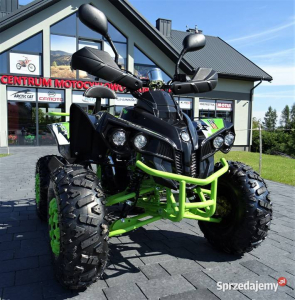 ATV WARRIOR GREEN-LEMON 125CC #ROTI 8 INCH / SEMI-AUTOMAT0