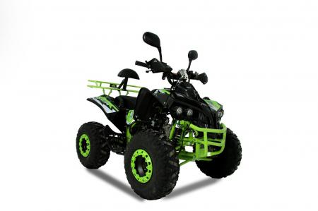 ATV WARRIOR GREEN-LEMON 125CC #ROTI 8 INCH / SEMI-AUTOMAT [0]