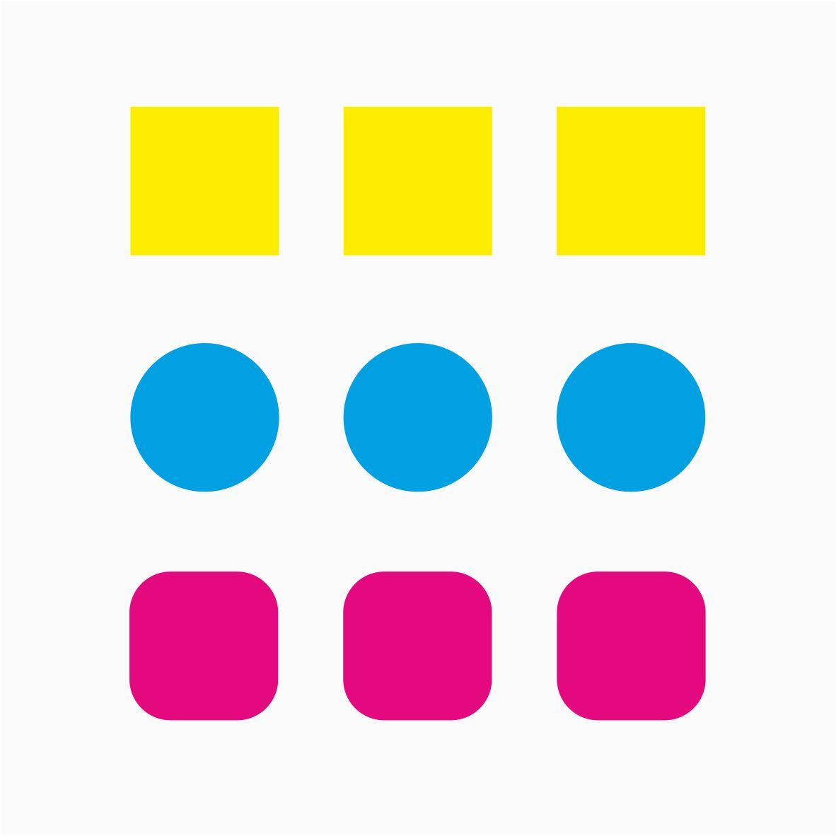 etichete autoadezive colorate forme diverse