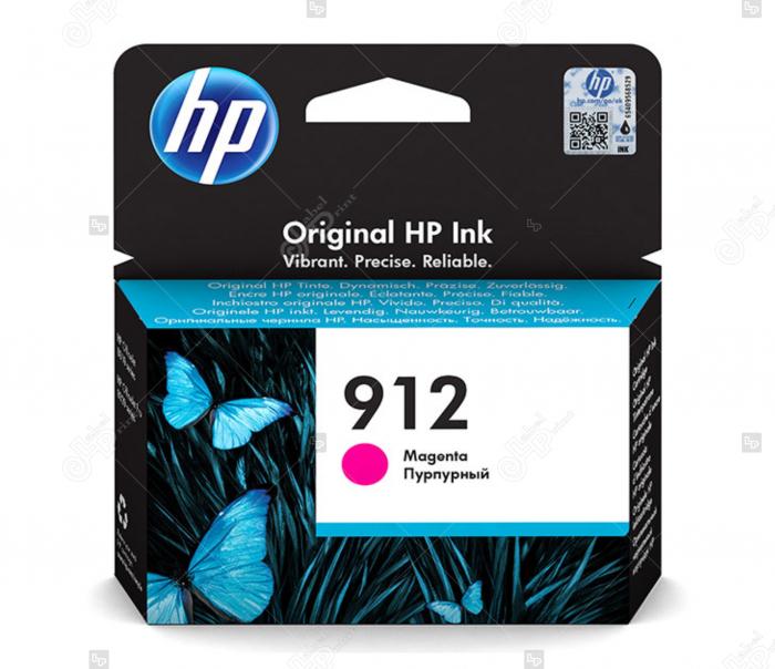 Cartus HP 912 Magenta pentru Imprimanta HP OfficeJet Pro 8023 All-in-One [0]