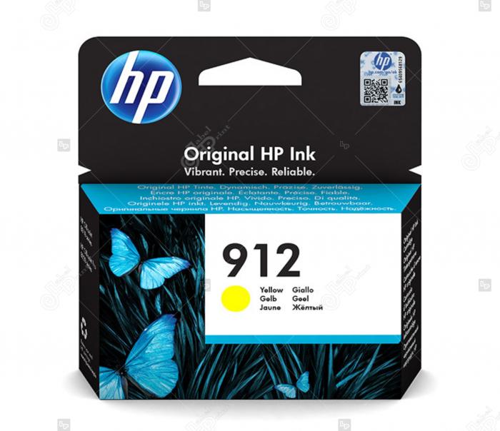 Cartus HP 912 Yellow pentru Imprimanta HP OfficeJet Pro 8023 All-in-One [0]