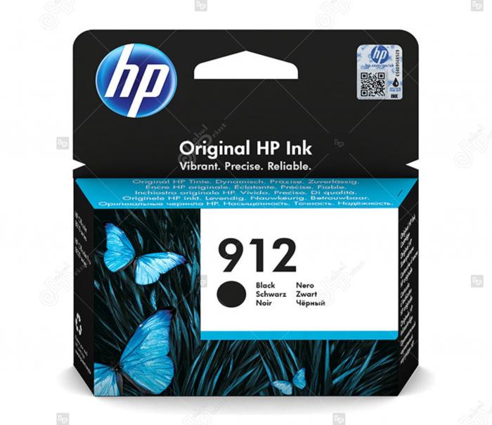 Cartus HP 912 Negru pentru Imprimanta HP OfficeJet Pro 8023 All-in-One [0]