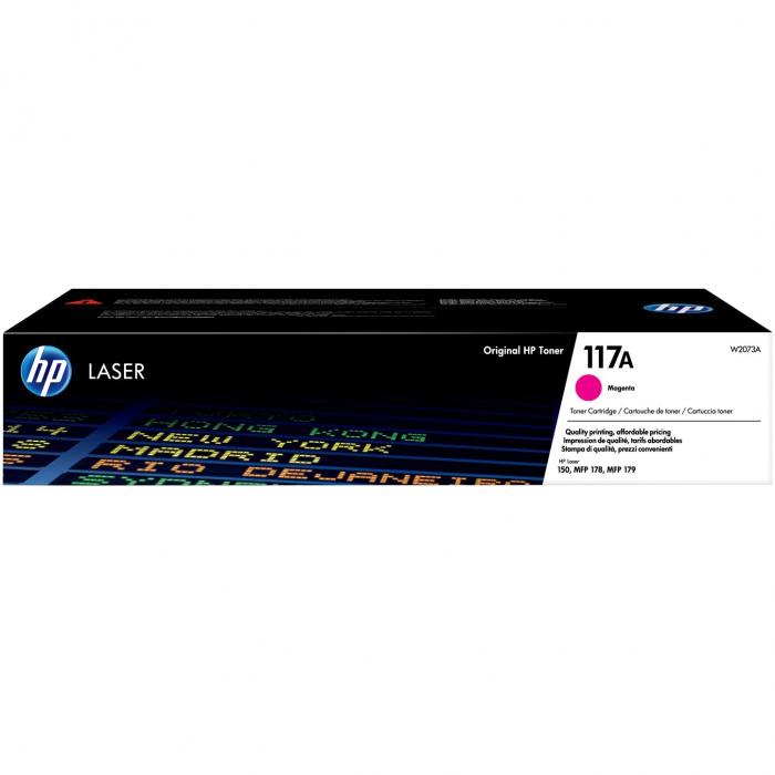 Cartus HP Laserjet 117A Magenta pentru Imprimanta HP Color Laser MFP 179fnw [0]