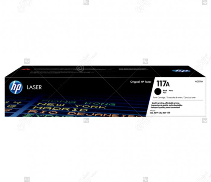 Cartus HP Laserjet 117A Negru pentru Imprimanta HP Color Laser MFP 179fnw [0]