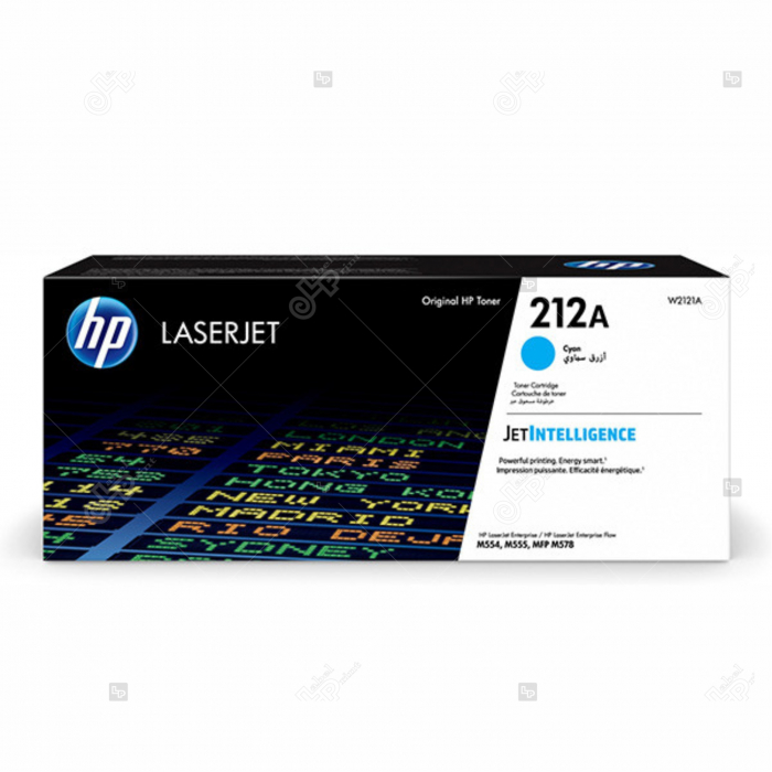 Cartus HP LaserJet 212A Cyan pentru Imprimanta HP Color LaserJet Enterprise M554dn [0]