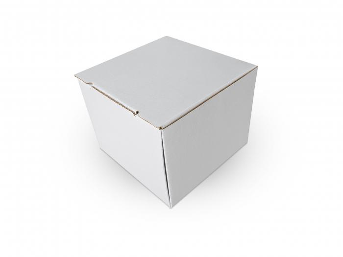 Cutie carton microondul nature, 105x105x85mm [2]