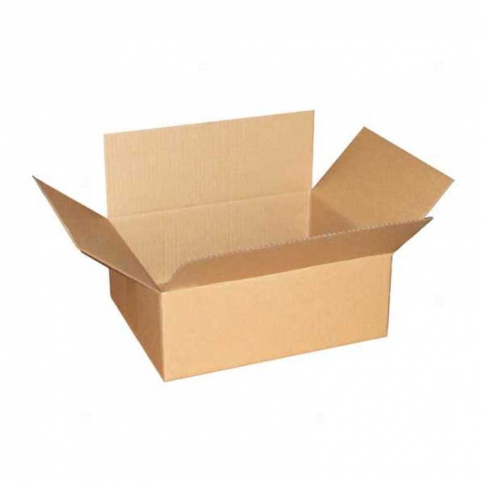 Cutie carton ondulat, natur, CO3, 300x215x140 mm [2]
