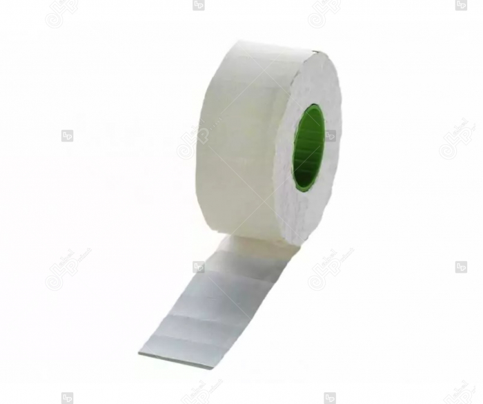 Etichete de pret albe rectangulare, 26 x 16 mm, 1000 buc/rola [0]