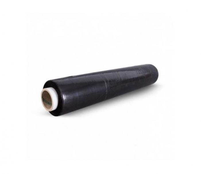 Bax x 6 role Folie stretch manuala neagra, 23 microni, greutate 1.8 kilograme net, neagra [1]