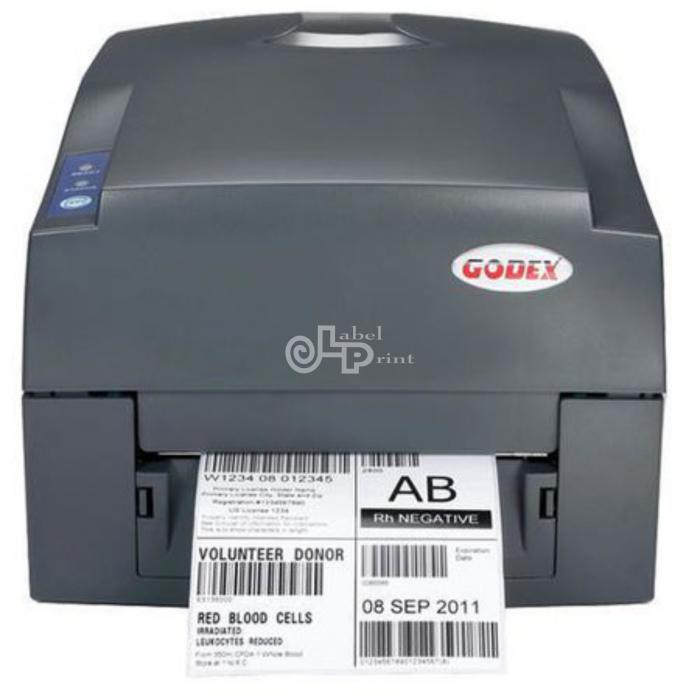 Imprimanta de etichete cu transfer termic Godex G500, 203DPI 2