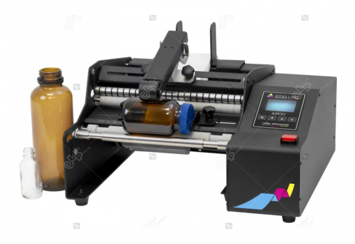 Aplicator semi-automat de etichete borcane sau etichete sticle Afinia A200 0