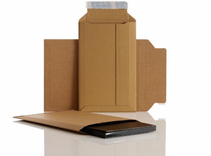 Plic din carton, maro,  250x353 mm [2]