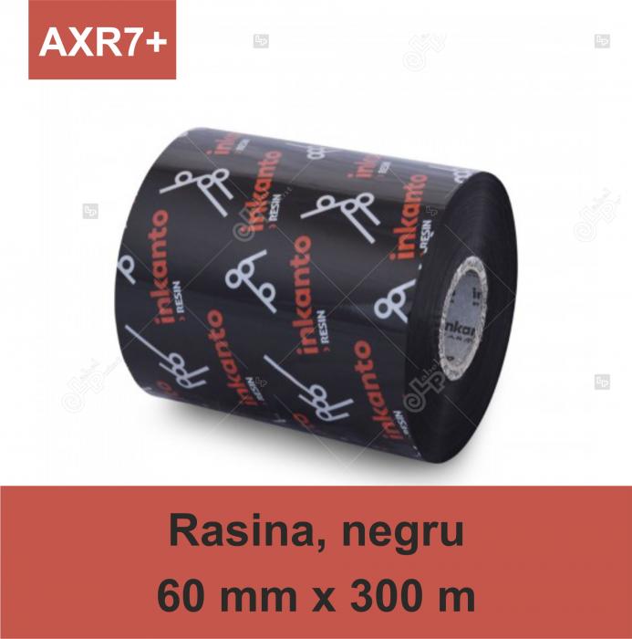 Ribon Inkanto AXR7+, rasina, negru, 60mmx300M, OUT 0