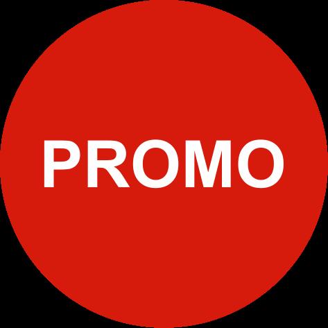 """Rola etichete autoadezive personalizate """"PROMO"""" [1]"""