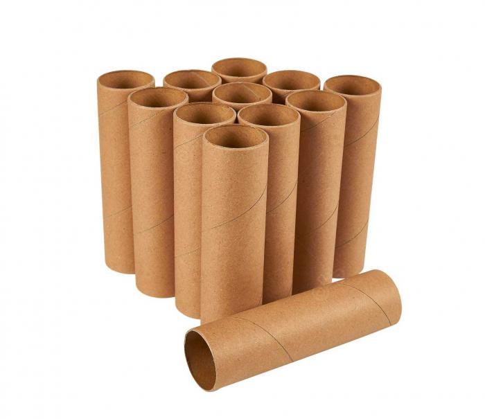 Tub de carton, diametru interior 76 mm, L=110 mm [0]