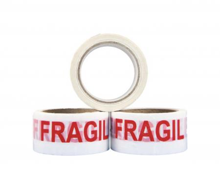 """Banda adeziva, Alba, imprimata """"FRAGIL"""", 50mm x 66M [2]"""