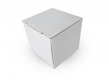 Cutie carton microondul nature, 105x105x110mm [2]
