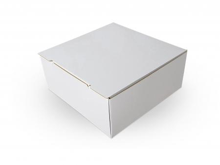 Cutie carton microondul nature, 205x205x85mm [2]