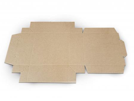 Cutie carton microondul nature, 205x205x110mm [3]