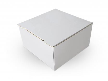 Cutie carton microondul nature, 205x205x110mm [2]