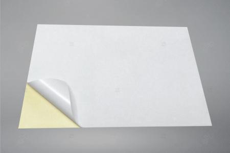 Etichete autoadezive A4 dreptunghiulare, 70 x 32 mm, 27 etichete / coala A4 autoadeziva, 100 coli autoadezive / top [3]