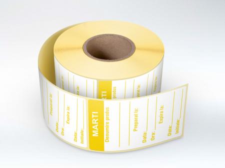 Etichete personalizate, MARTI - Zilele Saptamanii 30x60 mm [0]