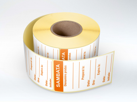 Etichete personalizate, SAMBATA - Zilele Saptamanii 30x60 mm [0]