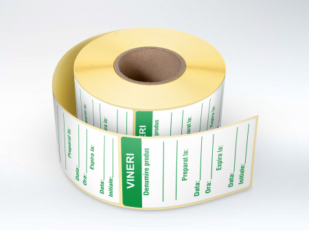 Etichete personalizate, VINERI - Zilele Saptamanii 30x60 mm [0]