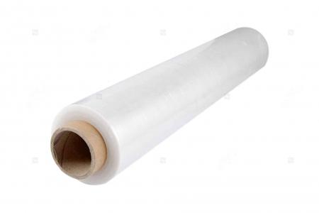 Folie stretch manuala, 23 microni, greutate 1.9 kg net, tub de 150 g, transparenta0