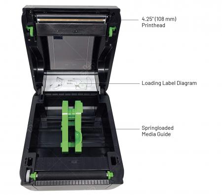 Imprimante termice TSC DA210, 203 DPI, USB [1]