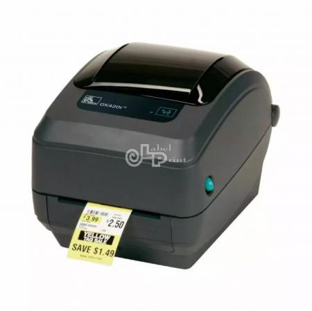 Imprimanta de etichete cu transfer termic Zebra GK420T, 203DPI0