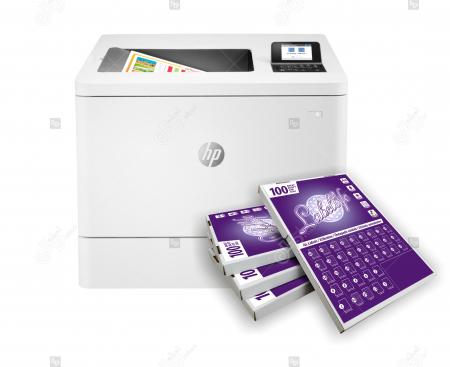 Imprimanta HP Color LaserJet Enterprise M554dn [0]