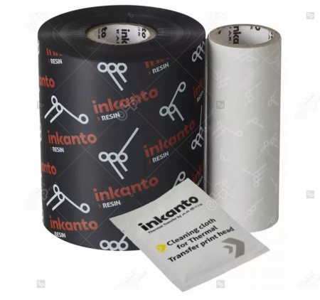 Ribon ARMOR Inkanto AXR7+, rasina (resin), negru, 154mmx450M, OUT1