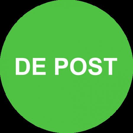 "Rola etichete autoadezive personalizate ""DE POST"" [2]"