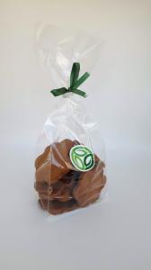 Biscuiti fara zahar cu unt, cacao si nuca - 150g0
