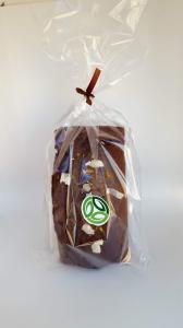 Chec artizanal cu ciocolata si portocale - 500g [0]
