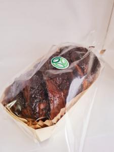 Cozonac artizanal insiropat in vinars, cu umlutura de nuca si cacao - 0,65kg1