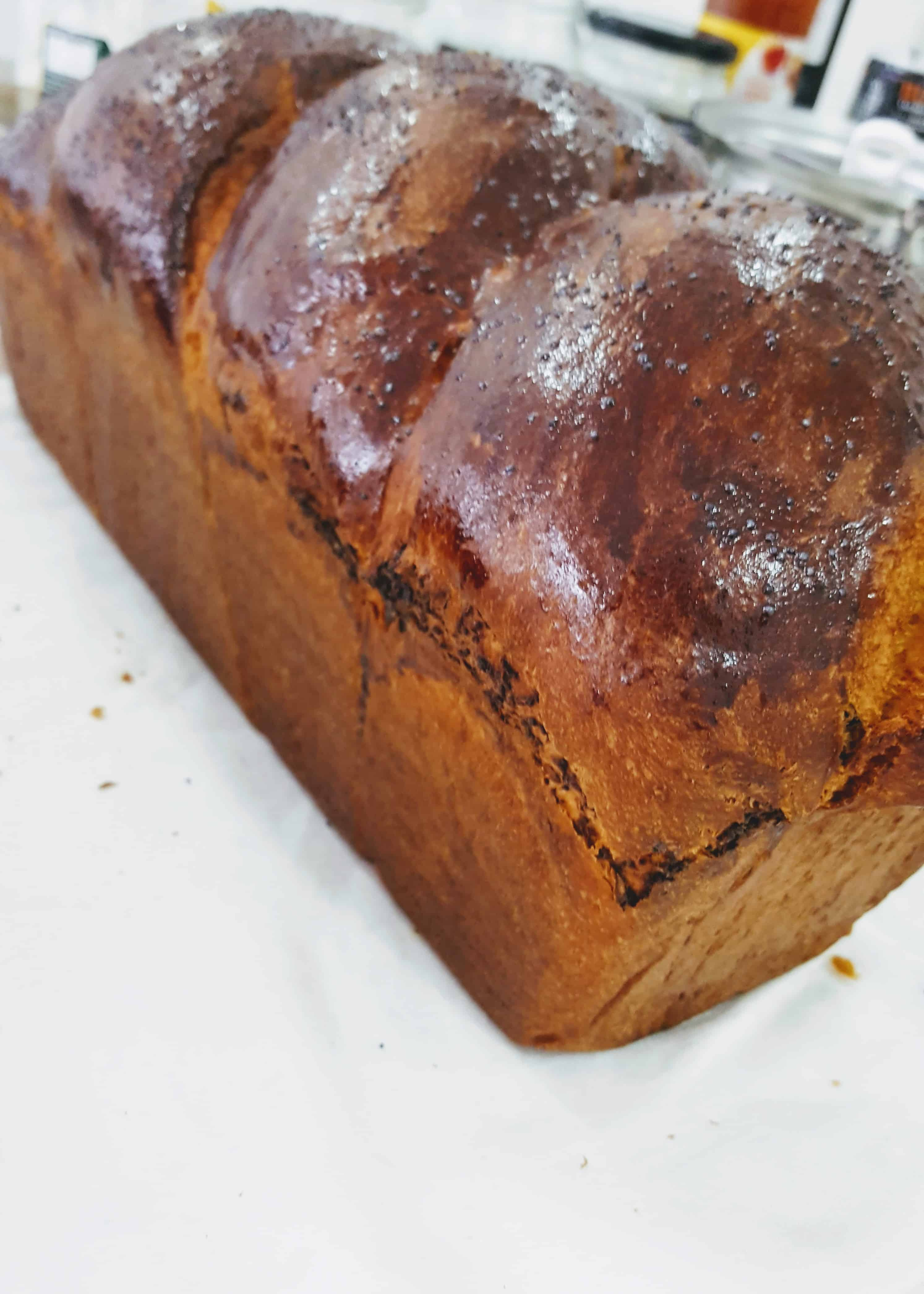 Cozonac de casa cu nuca - fara amelioratori/fara margarina - 0,8kg 4