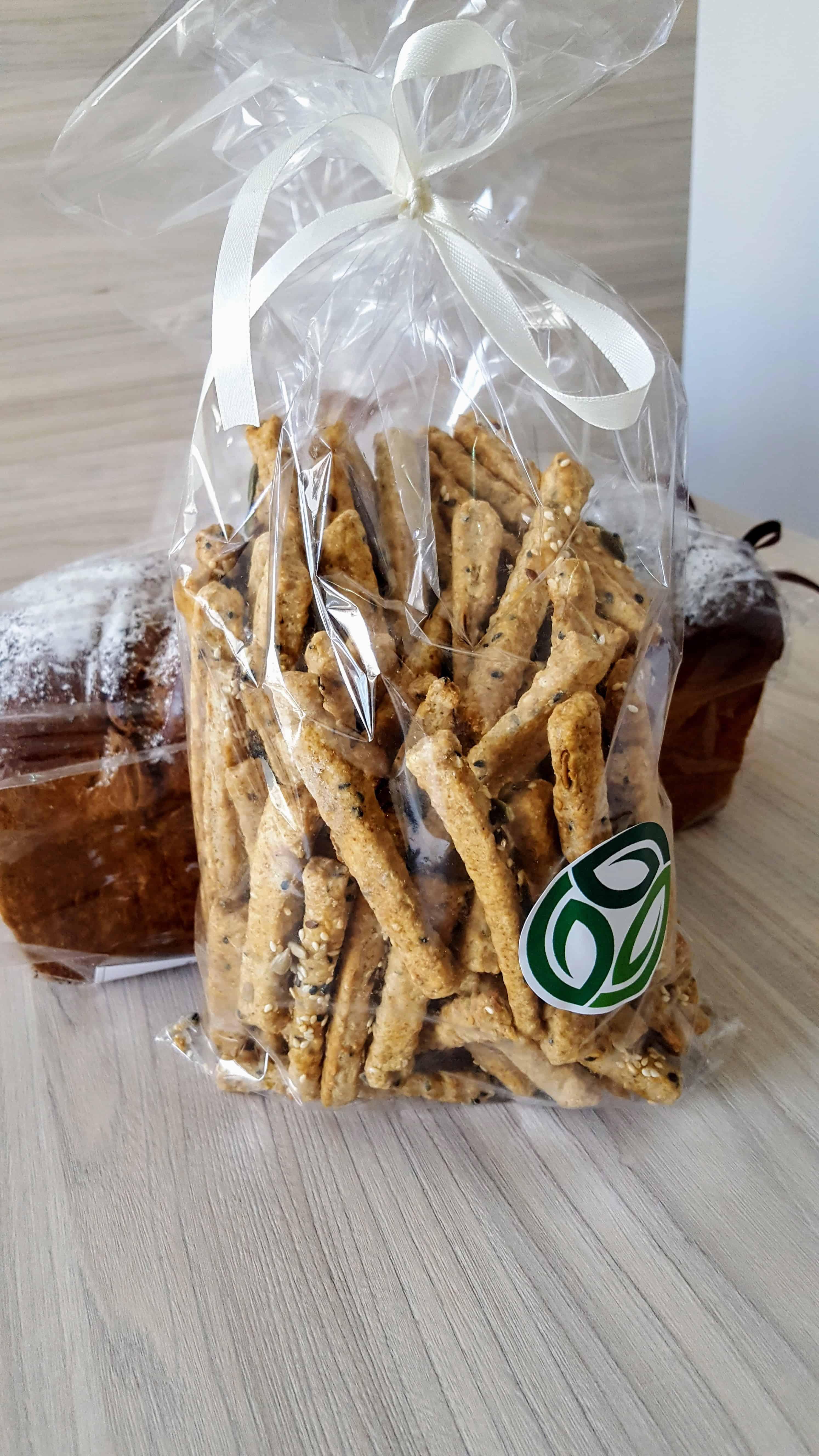 Saratele de rasfat din fainuri integrale cu seminte - 500g 2