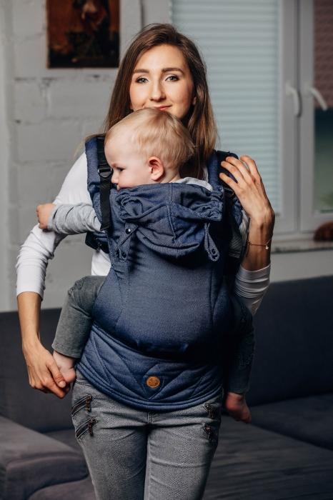 LennyGo Marsupiu Ergonomic -Jeans- Baby Size 0