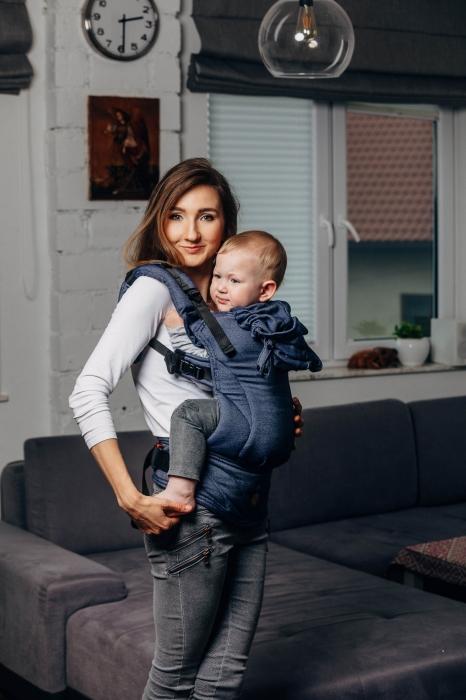 LennyGo Marsupiu Ergonomic -Jeans- Baby Size 1