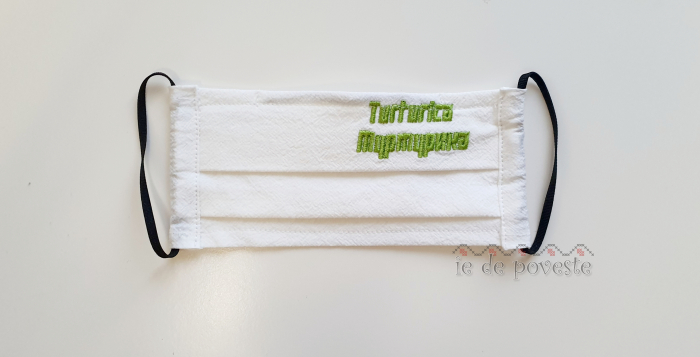 Masca reutilizabila pentru copii- cu nume brodat 0