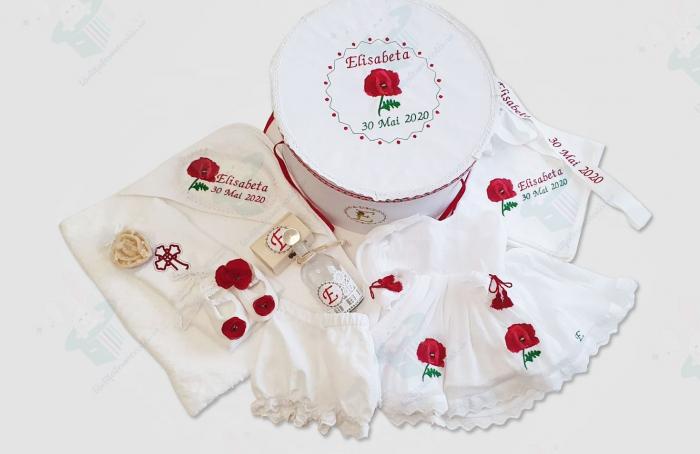 Trusou botez Sweet Poppies 0