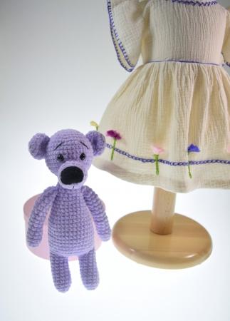 Ursuletul Pufu- Jucarie handmade0