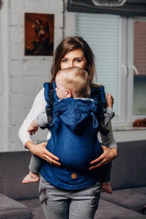 Marsupiu LennyGo Baby Size COBALT0